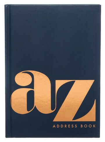 A-Z A5 Address Book