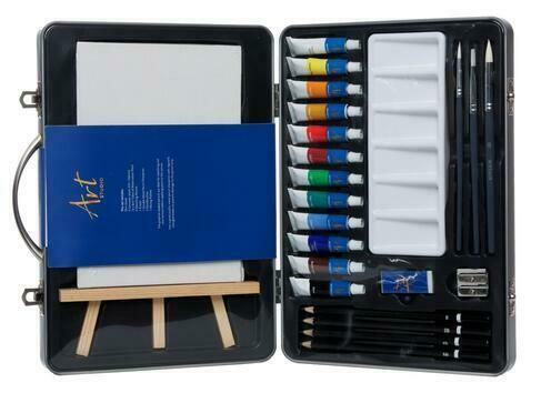 Art Studio Metal Watercolour Art Box