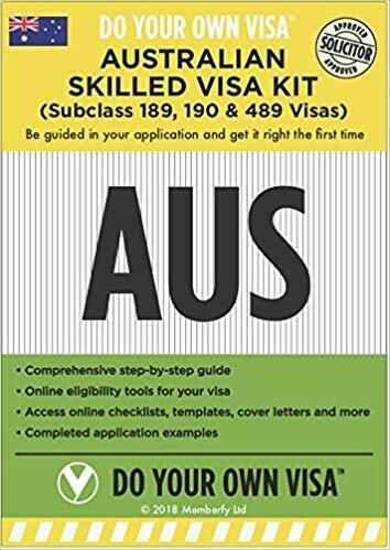 Australian Skilled Visa Kit – 2 Apr 2018