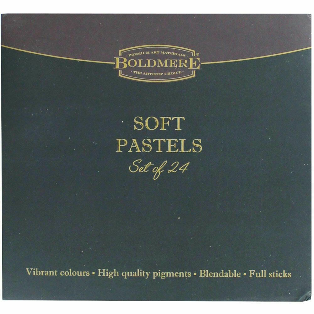 Boldmere 24 Soft Pastels, Art Supplies, Brand New