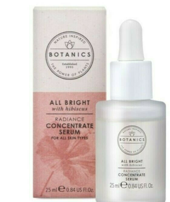 BOTANICS ALL BRIGHT RADIANCE CONCENTRATE SERUM 1 X 25ML