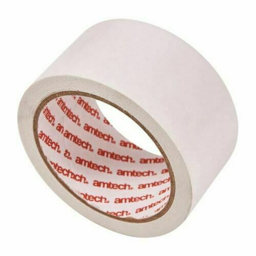 Carpet Tape Double Sided Multi-Purpose Strong Adhesive Tape Heavy Duty 50mm x10m