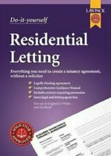 Do-it-yourself Residential Lettings Lawpack by Anthony Gold Solicitors and TC Yo