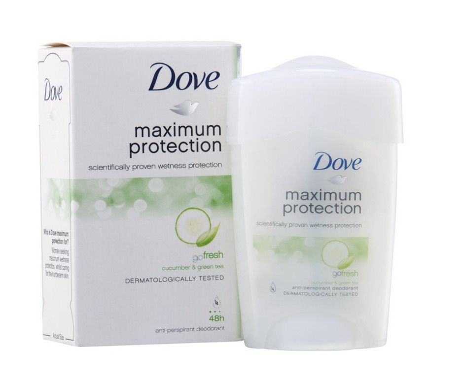 Dove Go Fresh 45ml Deodorant Stick Cucumber Green Tea 48hr Antiperspirant