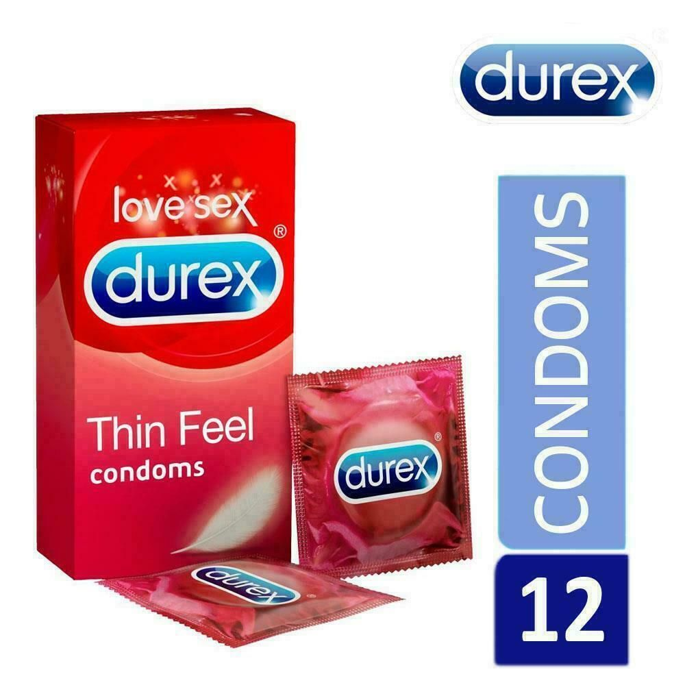 DUREX CONDOM DETAILS:- DUREX  THIN FEEL 6 CONDOMS 3/22 DATED THIN FOR EXTRA SENS