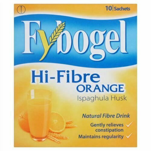 Fybogel Hi-Fibre Orange 10 Satchets