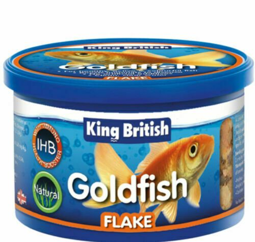 King British Complete Flake Food for all Goldfish & Coldwater Fish 28g