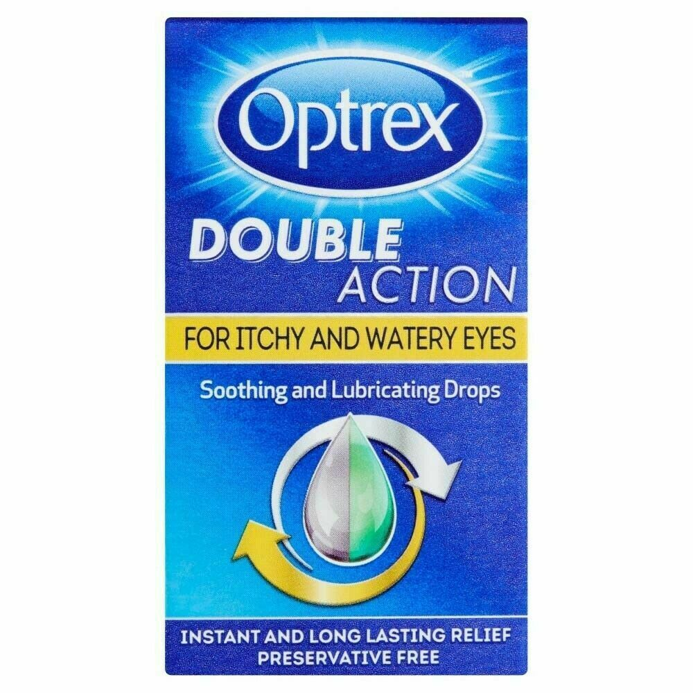 Optrex Double Action Itchy Eye Drops 10ml