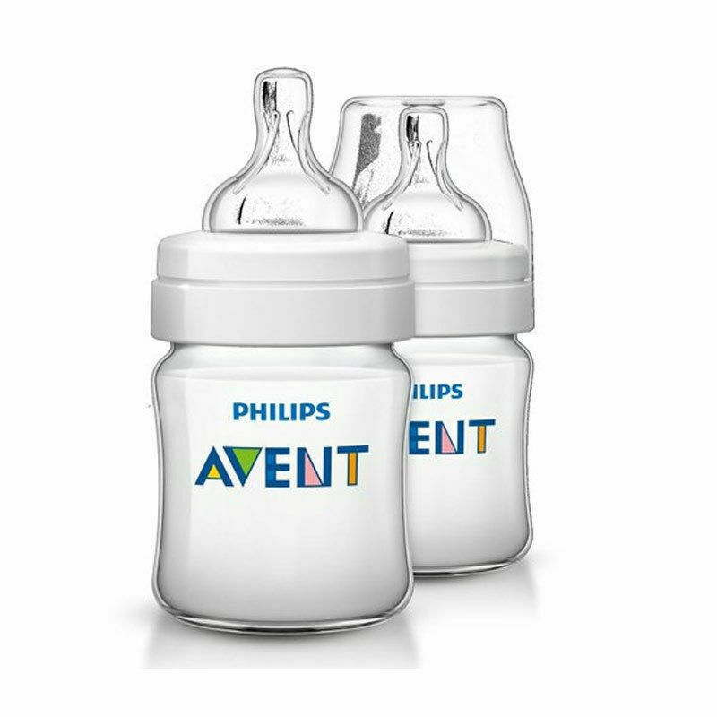 Philips Avent Classic+ Feeding Bottle For Babies SCF560/27 - Twin Pack