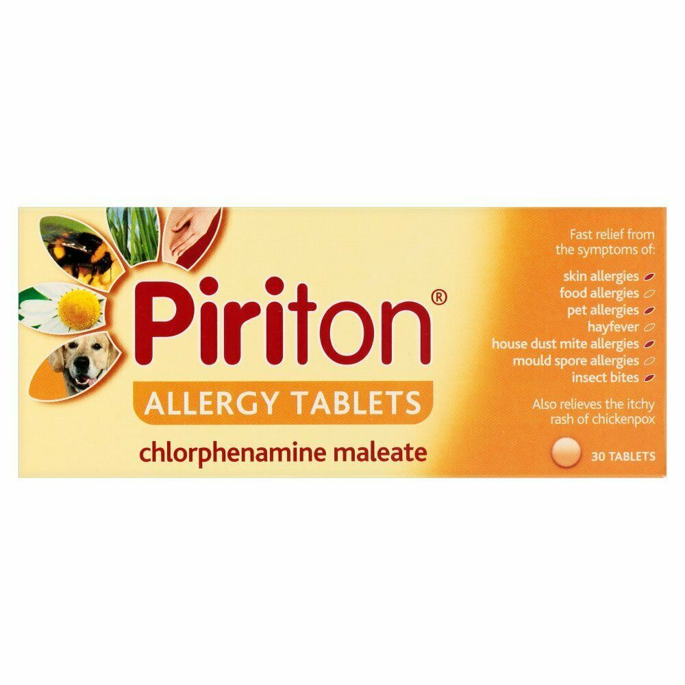 Piriton allergy tablets (30)