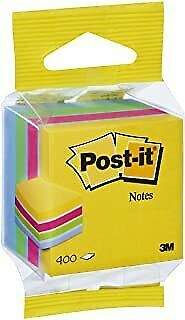 Post-it 586306 Mini Cube Note - Ultra Colours