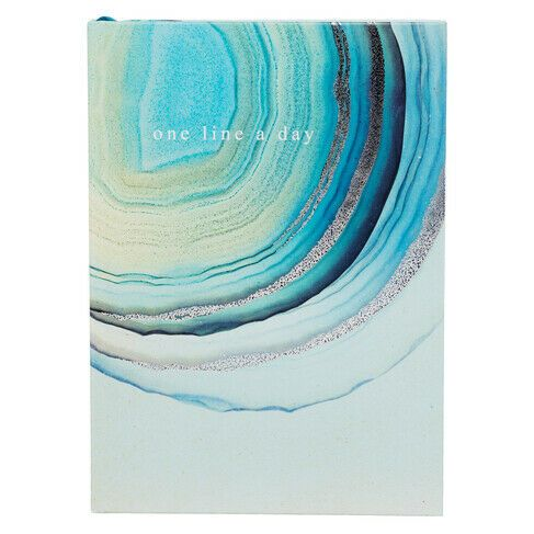 Seafoam Green Agate A5 Notebook Journal