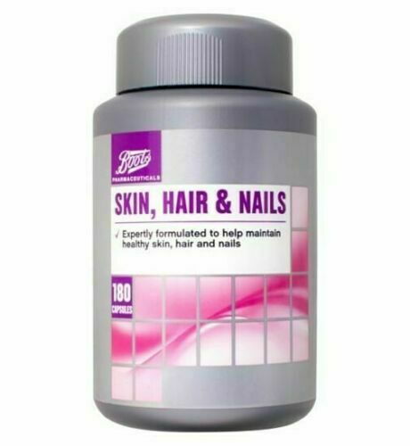 SKIN, HAIR & NAILS 180 Tabs - 6 months supply - BBE 07/20 BRAND NEW SEALED