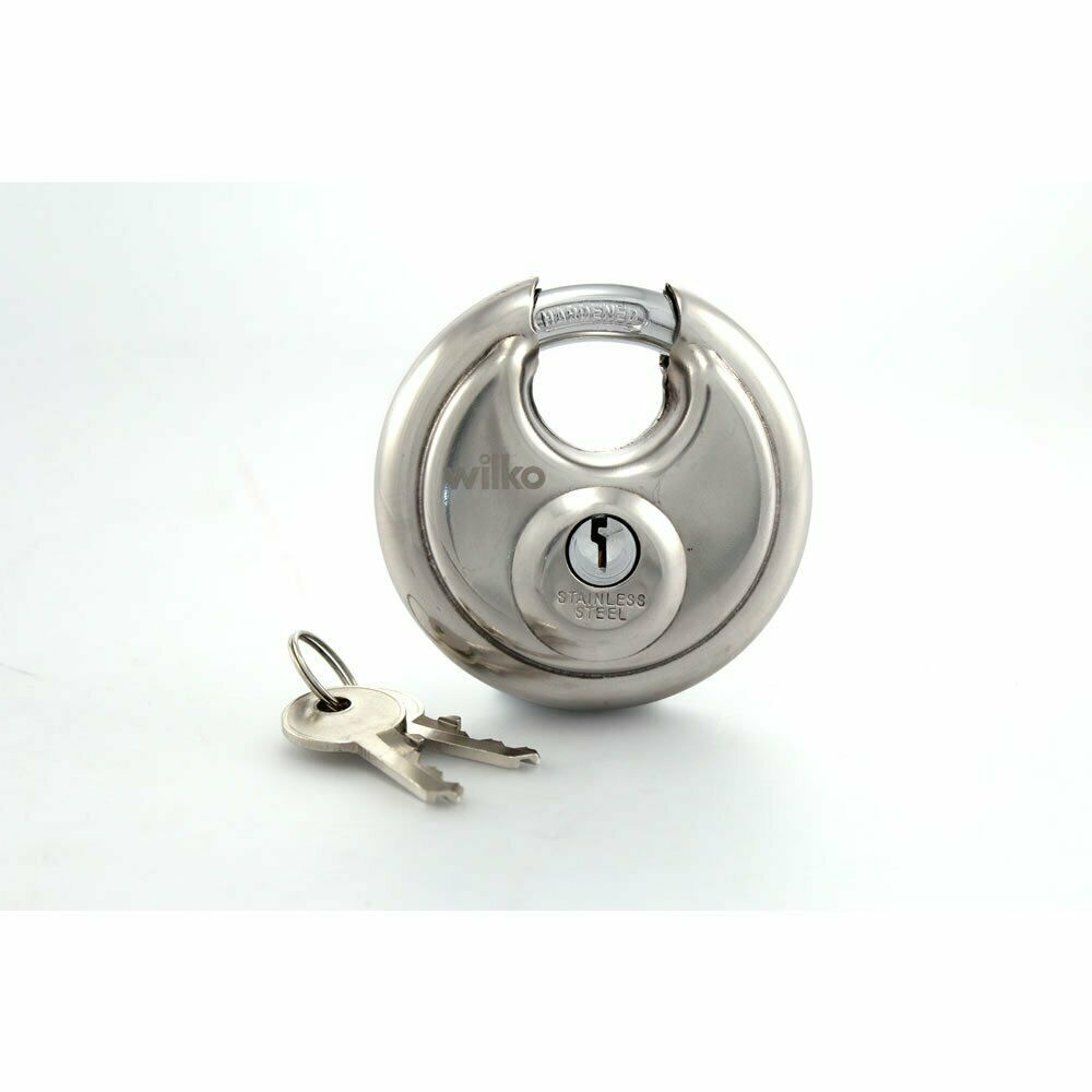 Stainless Steel Round Padlock 70mm