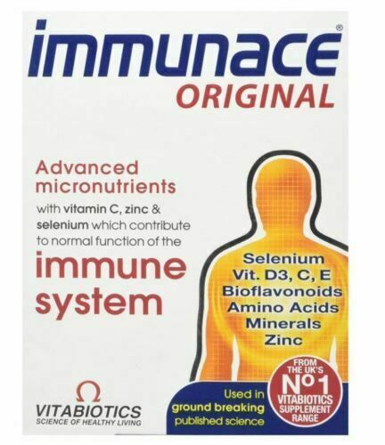 Vitabiotics Immunace Original All Round Nutritional Immune Support - 30 Tabs 2 p