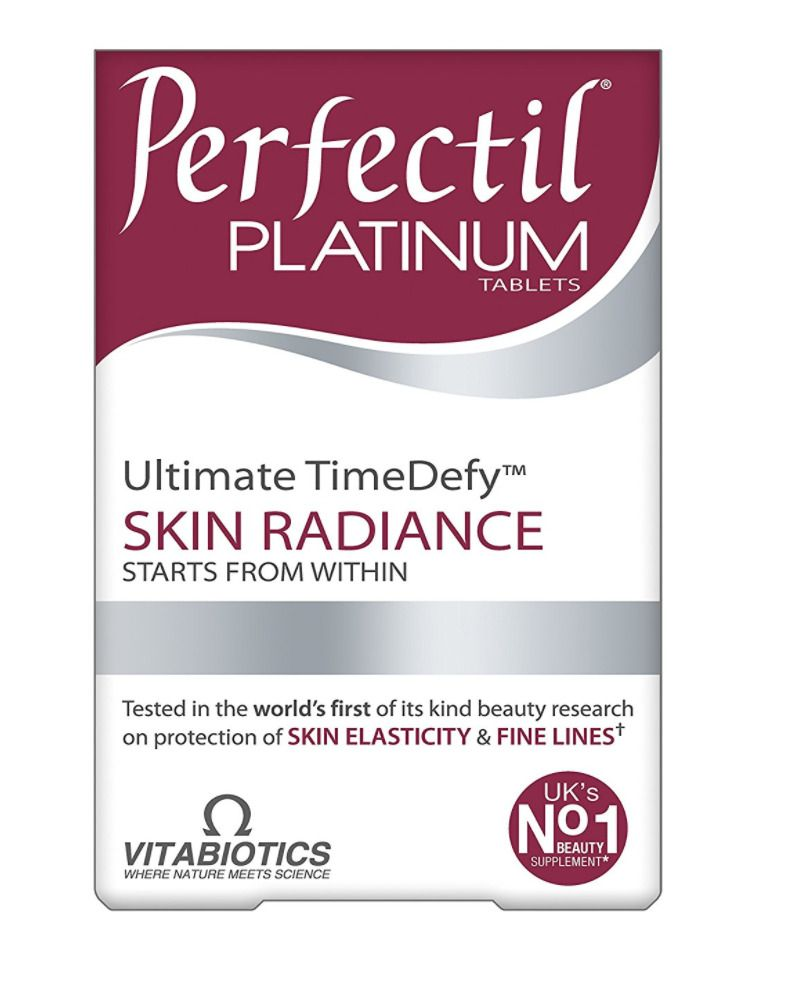 Vitabiotics Perfectil Platinum Ultimate Time Defy Skin Radiance Tablets 30 Tabs