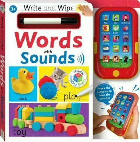 Write & Wipe: Words with Sounds 9781488934520 | Brand New |